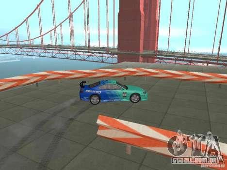 New Drift Track SF para GTA San Andreas sétima tela