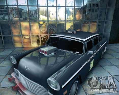 Diablo Cabbie HD para GTA San Andreas vista direita