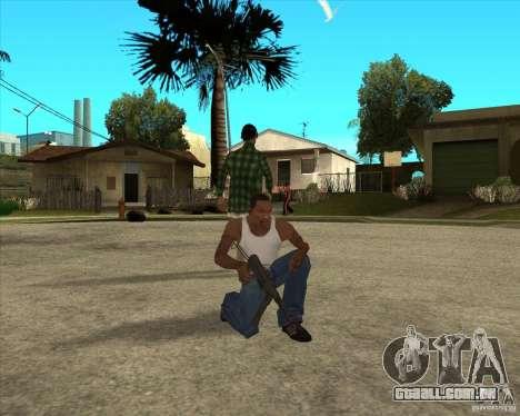 Armas da chamada do dever para GTA San Andreas quinto tela