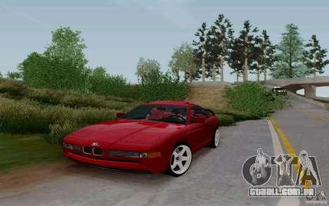 BMW 850i v2.0 Final para GTA San Andreas vista direita
