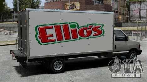 O novo anúncio para caminhão corcel para GTA 4 vista interior