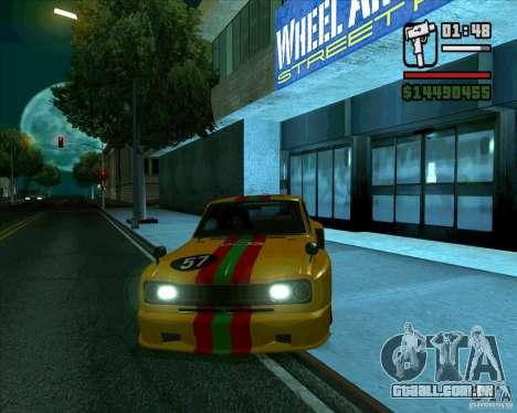 Nissan Skyline 2000gtr para GTA San Andreas esquerda vista