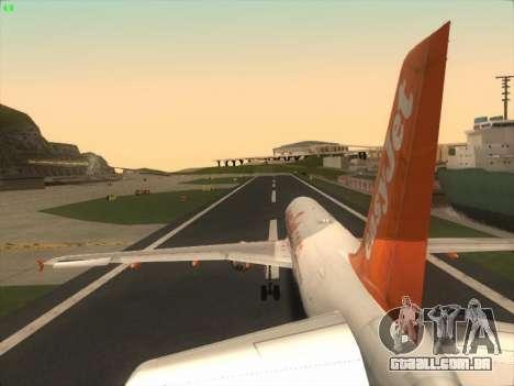 Airbus A320-214 EasyJet para o motor de GTA San Andreas