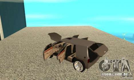 Jemala para GTA San Andreas vista interior