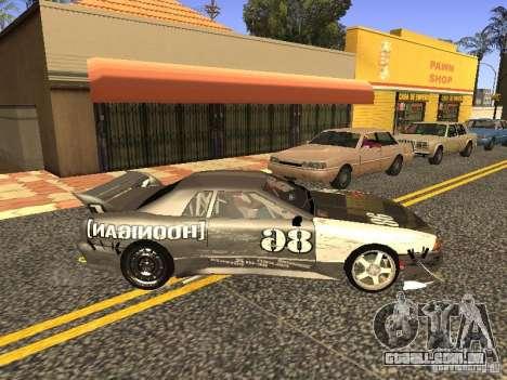 Elegy Drift Korch v2.1 para GTA San Andreas vista traseira