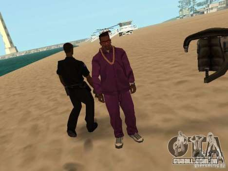 Tenpenny para GTA San Andreas quinto tela