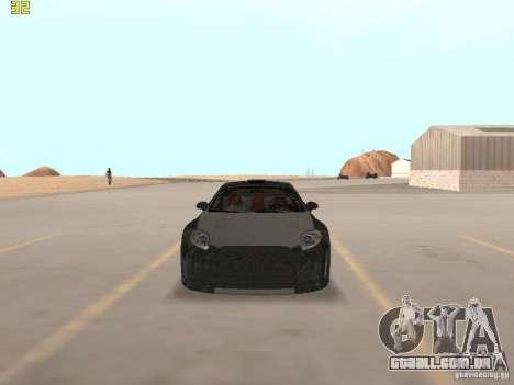 Mitsubishi Eclipse GT NFS-MW para GTA San Andreas esquerda vista