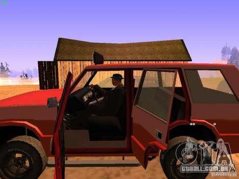 Huntley Superior para GTA San Andreas vista inferior