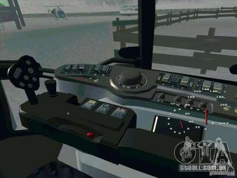 Steyr CVT 170 para GTA San Andreas vista superior