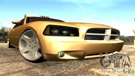 Dodge Charger SRT8 Re-Upload para GTA San Andreas esquerda vista
