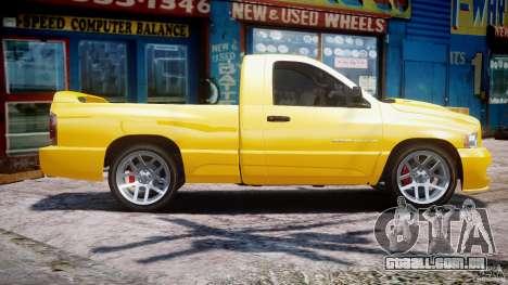Dodge Ram SRT-10 2003 1.0 para GTA 4 esquerda vista