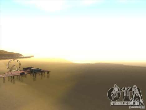 ENBSeries para PC médio e fraco para GTA San Andreas