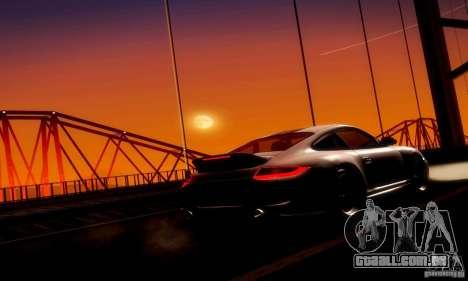 Porsche 911 Sport Classic para GTA San Andreas vista interior