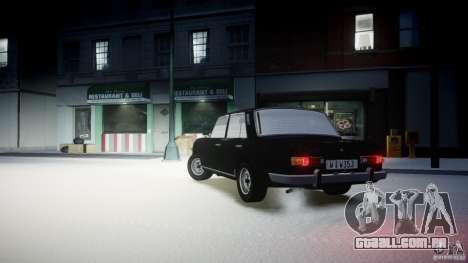 Wartburg 353 W Deluxe para GTA 4 esquerda vista