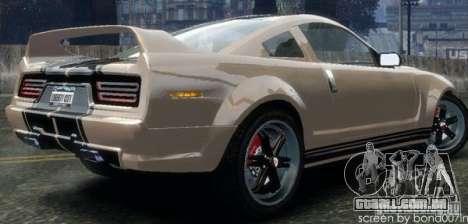 Rei da estrada de Flatout Ultimate Carnage para GTA 4 esquerda vista