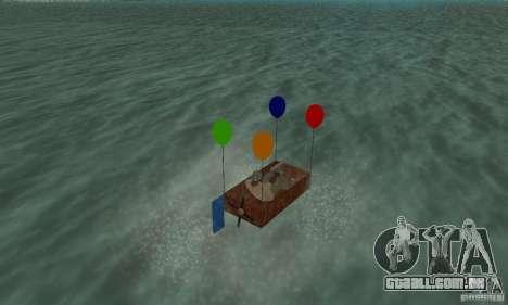 Ballooncraft para GTA San Andreas esquerda vista