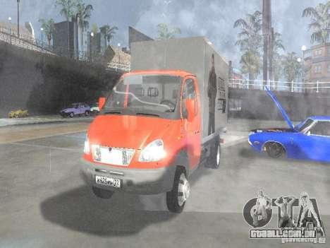 Gazela 33022 para GTA San Andreas