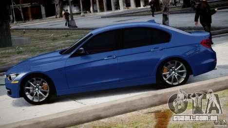 BMW 335i E30 2012 Sport Line v1.0 para GTA 4 esquerda vista