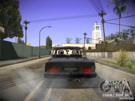 Tofas 124 Serçe para GTA San Andreas vista direita