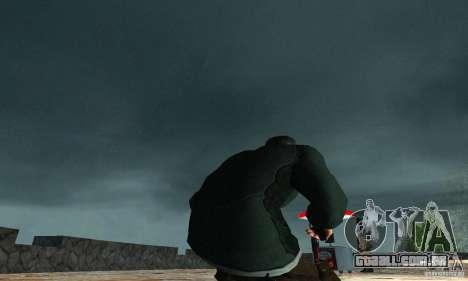 SAM FISHER para GTA San Andreas terceira tela