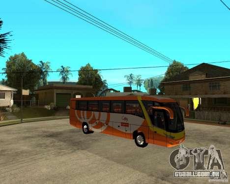 Cidade Express Bus da Malásia para GTA San Andreas vista direita