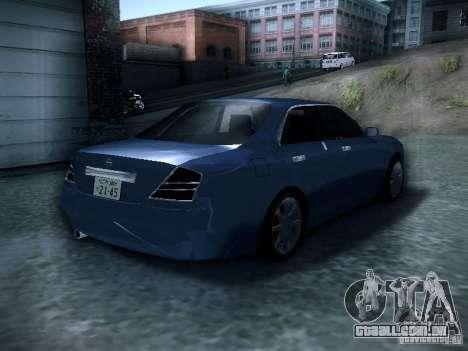 Nissan Gloria para GTA San Andreas traseira esquerda vista