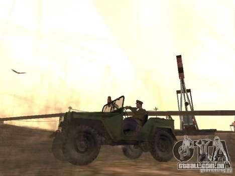 Oficial soviético BOB para GTA San Andreas segunda tela