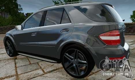 Mercedes-Benz ML63 AMG para GTA 4