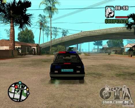 ВАЗ 2114 DPS tuning para GTA San Andreas vista direita