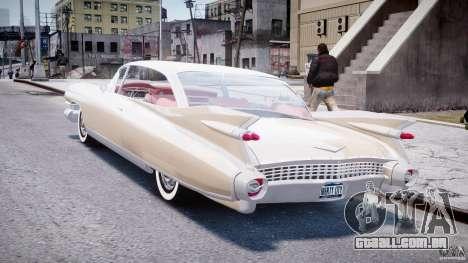 Cadillac Eldorado 1959 (Lowered) para GTA 4 traseira esquerda vista