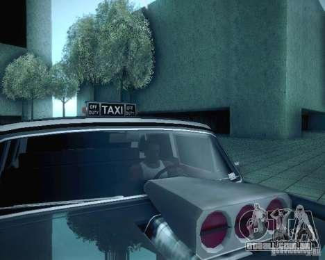 Diablo Cabbie HD para GTA San Andreas vista superior