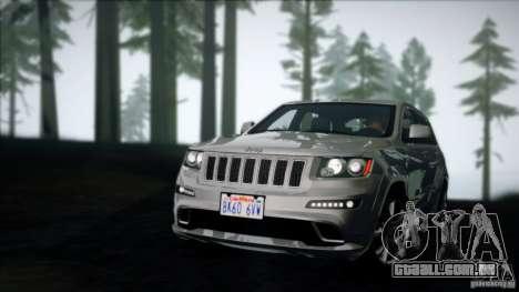 Solid ENB v7.0 para GTA San Andreas por diante tela