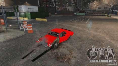 Jupiter Eagleray MK5 v.1 para GTA 4 vista de volta