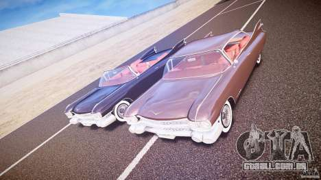 Cadillac Eldorado 1959 interior red para GTA 4