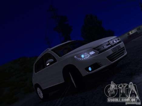 Volkswagen Tiguan 2.0 TDI 2012 para GTA San Andreas vista inferior