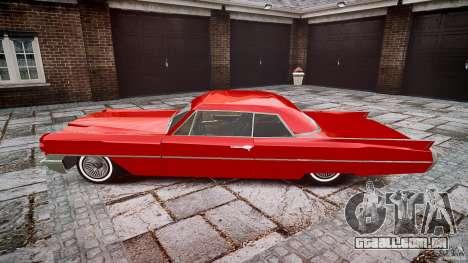 Cadillac De Ville v2 para GTA 4 esquerda vista