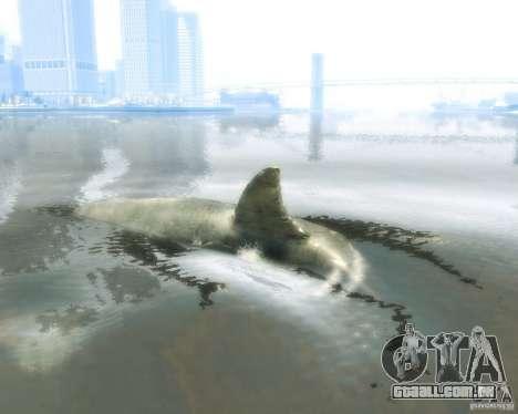 Megalodon para GTA 4 traseira esquerda vista