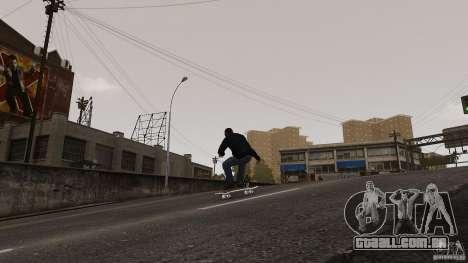 Skate # 4 para GTA 4 vista direita