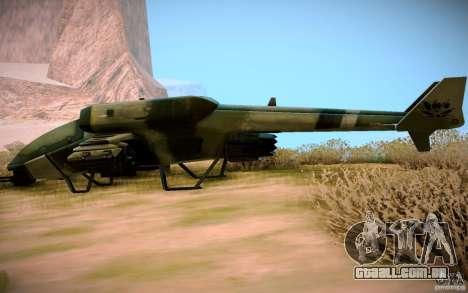 Type 4 Doragon para GTA San Andreas vista direita