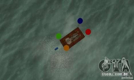 Ballooncraft para GTA San Andreas vista direita