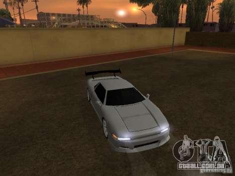 Infernus novo HD para GTA San Andreas traseira esquerda vista