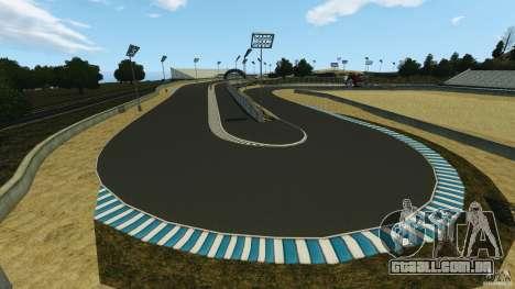 Laguna Seca [Final] [HD] para GTA 4 nono tela