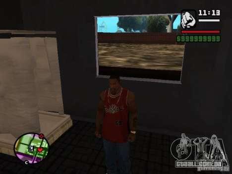 CJ privado para GTA San Andreas terceira tela
