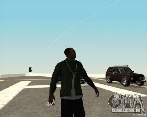 Animação diferente para GTA San Andreas