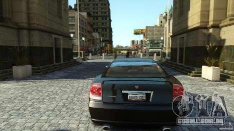 Civilian Buffalo v2 para GTA 4 vista de volta