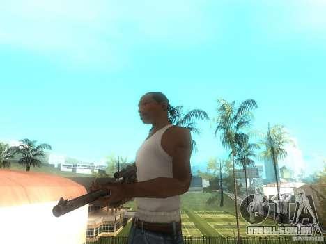 Rifle VSS Vintorez para GTA San Andreas segunda tela
