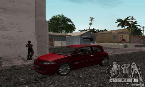 New Groove para GTA San Andreas por diante tela