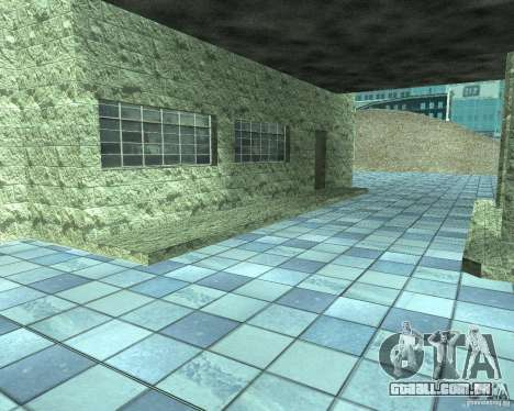 HD garagem em Doherty para GTA San Andreas sexta tela