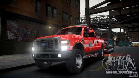 Ford Chief F250 para GTA 4 vista direita