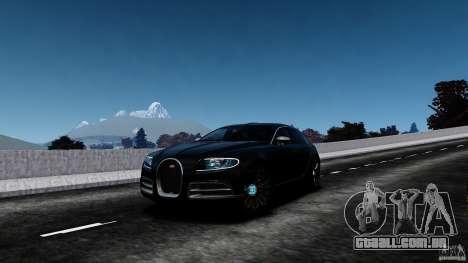 Bugatti Galibier 2009 para GTA 4 interior
